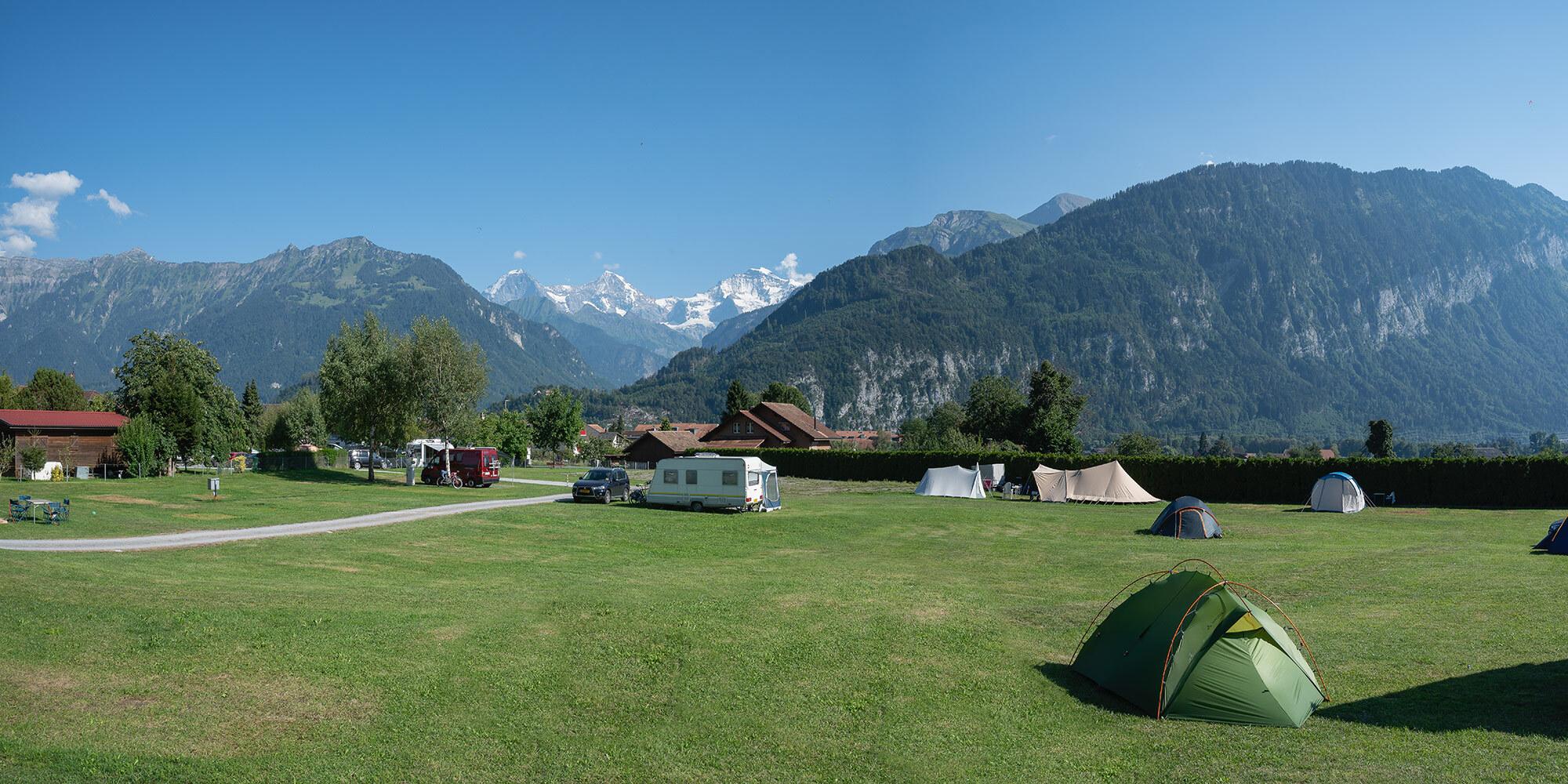 Übersichtsplan JungfrauCamp